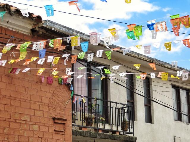 Banners in the Tarija sky