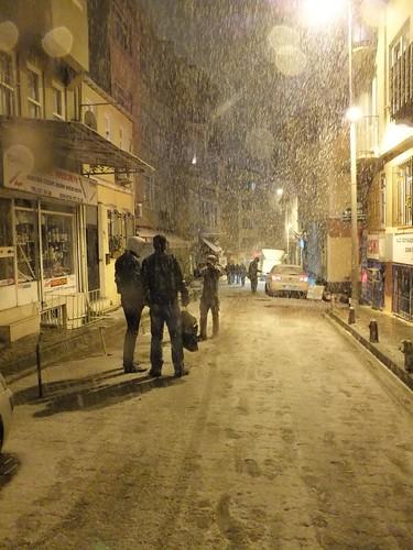 Hó Isztambulban