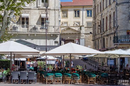 Avignon cafes