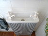 Love this tiny loo sink! Otway Harvest Farm