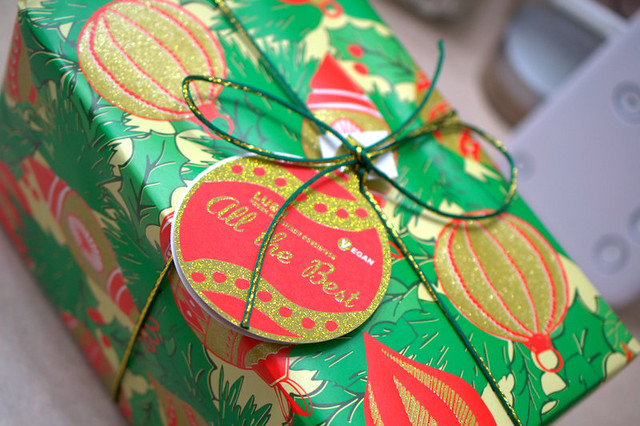 Wrapping Gifts? Ain't Nobody Got Time For That. Right, LUSH?