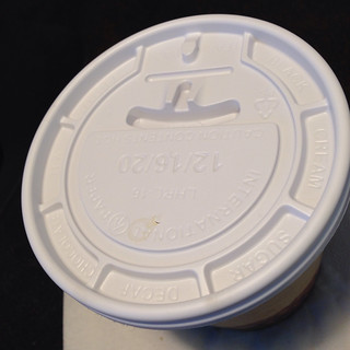 today's date on a cup lid