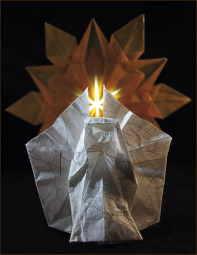 Origami Angel (Esther Schönenberger) - Origami Snowflake (Dennis Walker)