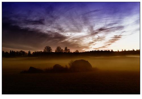sunset mist sweden rx1