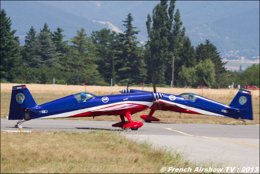 Patrouille EXTRA 330SC EVAA au Free Flight World Masters Valence 2013, Meeting aerien 2013