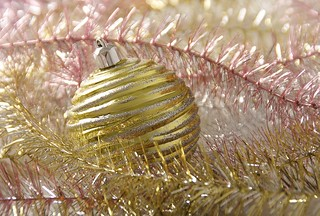 Christmas New Year ball decor