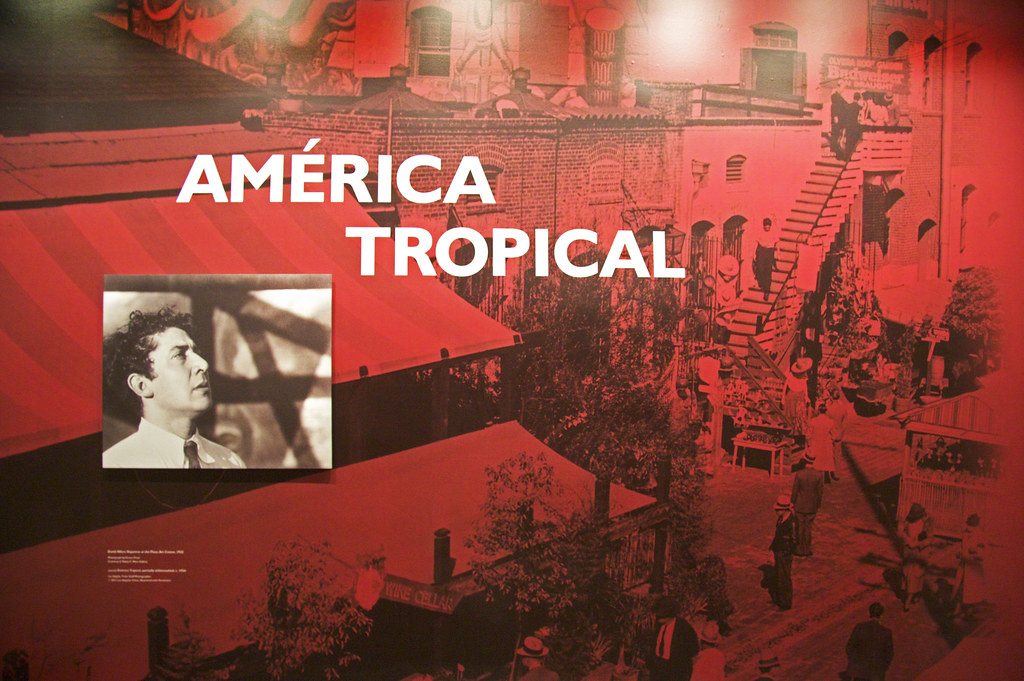 Mural olson visual for American tropical mural