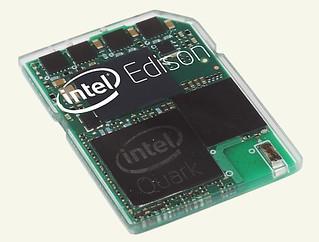 Intel Edison - SD kártya méretű számítógép az Intel-től