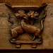 Breda, Noord-Brabant, Grote Kerk, choir, main stalls, south side, animal misericord by groenling