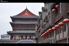 西安钟鼓楼广场(Xi'an Bell Tower and Drum Tower square)