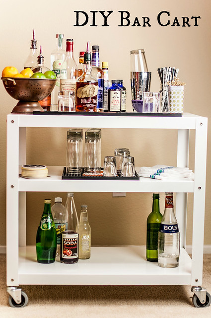 DIY Bar Cart in_the_know_mom