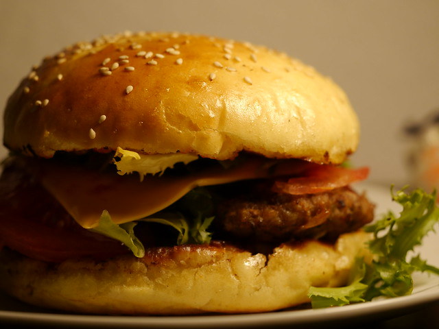 homemade cheeseburger with a perfect fluffy bun! | Flickr - Photo ...