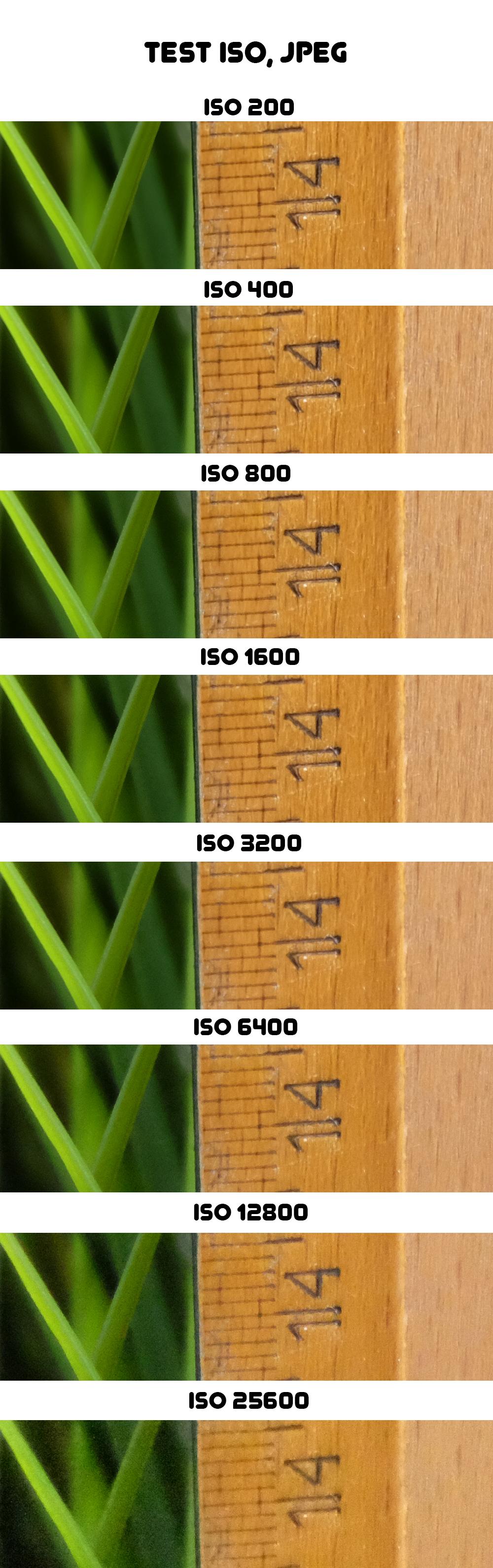 Fujifilm X-E2 - test ISO, JPEG