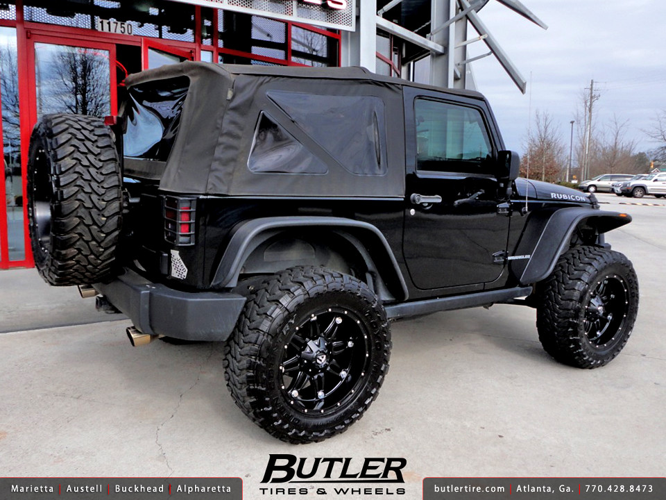 Jeep Wrangler Rubicon With 20in Fuel Hostage Wheels