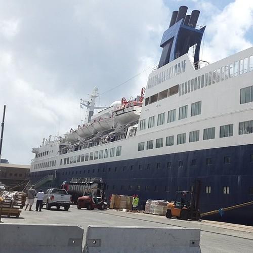 Saga Pearl 2 - E Birth Cape Town Harbour by chrisLgodden