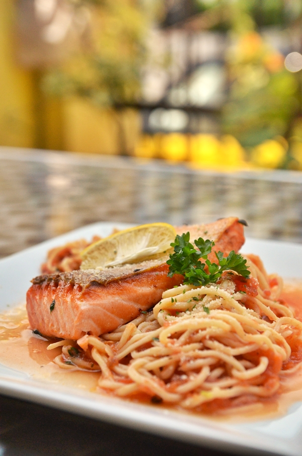 Wild Salmon Homemade Pasta