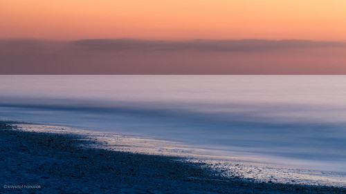 ocean longexposure sunset sea orange water twilight rocks waves glow unitedstates florida horizon smooth nd fl minimalism marcoisland hanusiak
