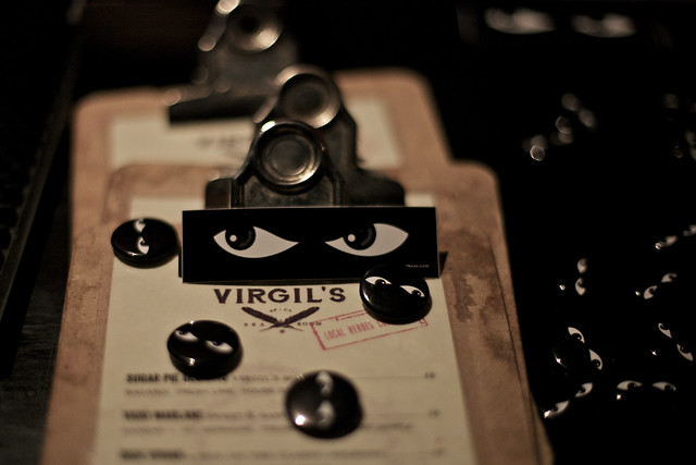 Speakeasy at Virgil's