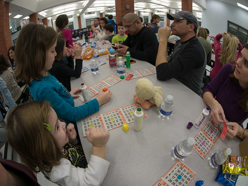 Bingo crowd