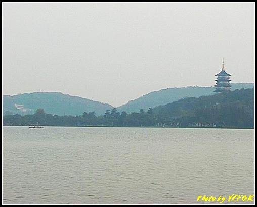 杭州 西湖 (其他景點) - 289 (在西湖十景之 蘇堤 看西裡湖及西湖十景之 雷風塔)
