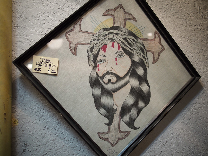 """Jesus Fabric Pic"""