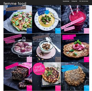 Femme Food nu med nyt, lækkert look