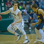 2014-02-25 -- Men's basketball vs. Augustana.