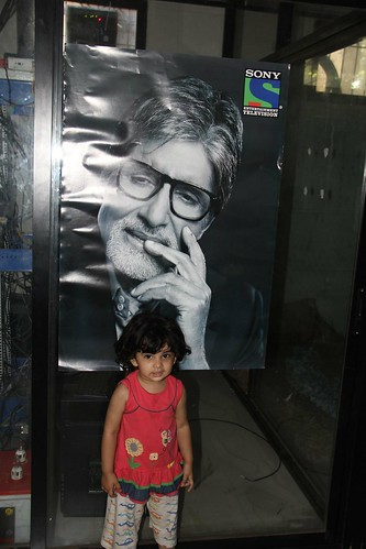 The Youngest Fan Of Mr Amitabh Bachchan  -Nerjis Asif Shakir 2 Year Old by firoze shakir photographerno1