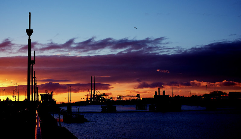 Docklands at Dawn