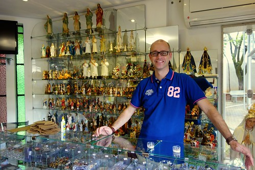The souvenir shop in Belo Horizonte