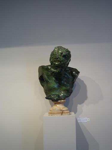 IMG_8803 _ Victor Hugo, buste héroïque, Auguste Rodin, 1902 (2), 1908, Bronze, Maison de Victor Hugo, Paris, 2008
