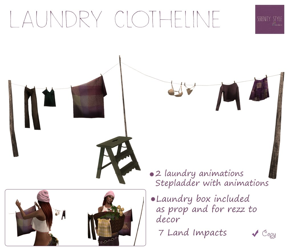 Laundry Clotheline