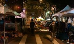 Nighttime Tents