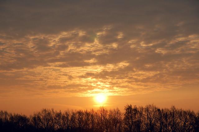 Immer geht die Sonne auf. Immer.