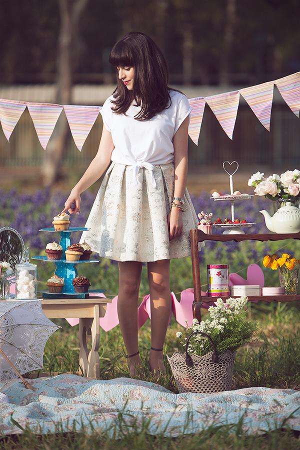 cupcakes, birthday girl, birthday picnic, fashion blog, דר משיח, יום הולדת ,בלוג אופנה, אפונה בלוג אופנה, קאפקייקס, פיקניק יומולדת, רעיון ליומולדת, מסיבת תה