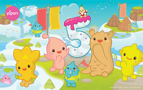 Sky High Summer - Yipori turns 5!
