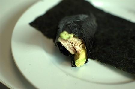 Breakfast nori roll