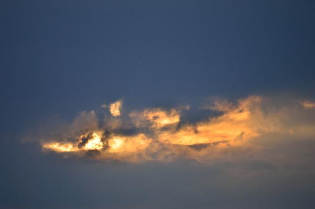 夕陽 Setting sun