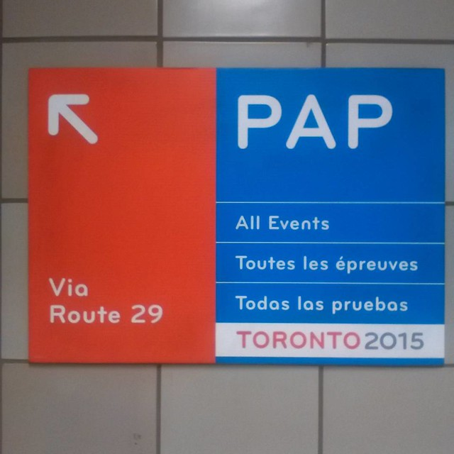 Pan Am Games without Portuguese #toronto #panamgames #portuguese #dufferinstreet #ttc #subway