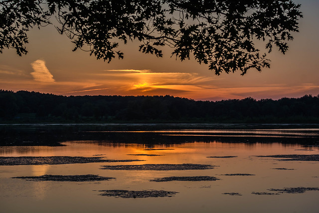 Mendon Ponds Sunset