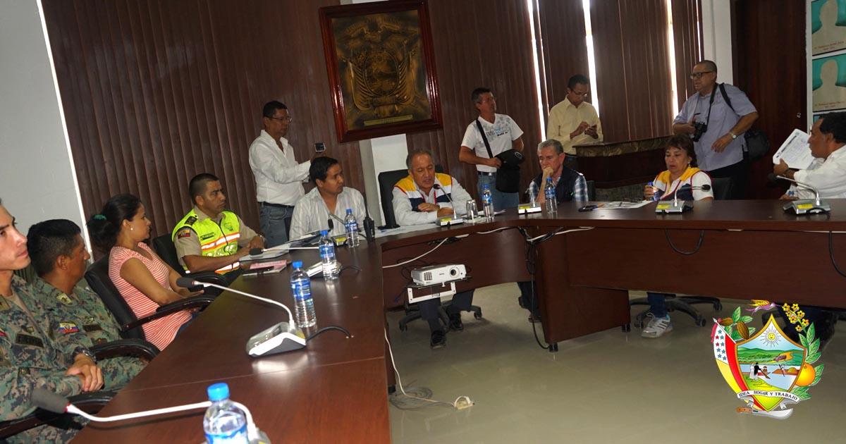 COE informó actividades sobre emergencia por lluvias