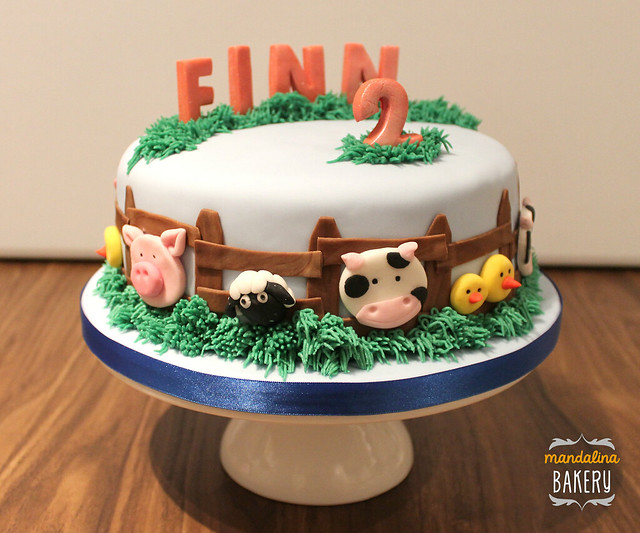 Farm Birthday Cake Uk