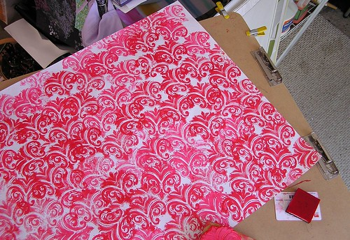 Stamping an Ornamental Pattern