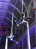 A breathtaking finale from two aerial acrobats