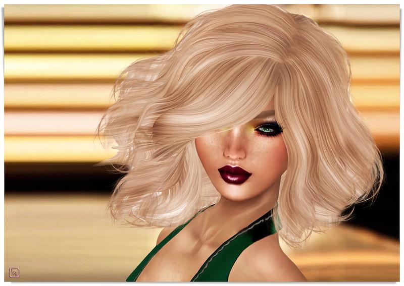 Tumbled Blonde.