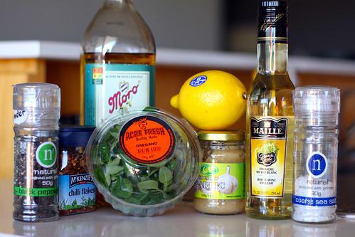 Making Salad Dressing