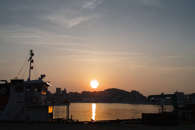 Good evening from harbour town / Fukuoka