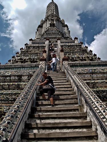 Wat Arun o Templo de la Aurora (Bangkok, Thailandia)