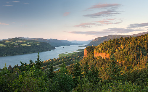 sunset panorama usa nature clouds oregon forest portland landscape nikon scenery day view scenic clear columbiariver gorge westcoast reallyrightstuff vistahouse leefilter afs1735mmf28d womensforumpark d800e