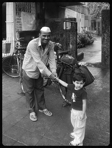 My Grand Daughter Marziya Shakir Will Shoot The Dabbawalas Too.. by firoze shakir photographerno1